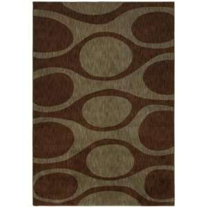 Angela Adams Kenga Dark Brown 10710 1 10 X 2 9 Area Rug Home