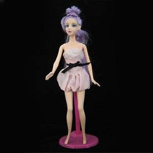 New Pink Bubble Skirt Cute Dress For Barbie Doll Toys