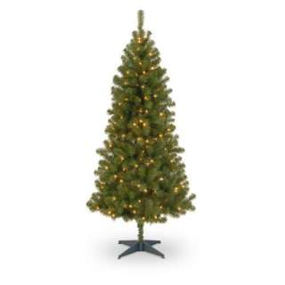 6 ft. Canadian Grande Fir Pre Lit Christmas Tree Christmas Decor