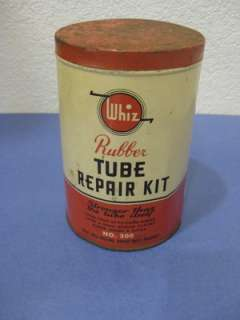 vtg Whiz Rubber Repair Bicycle Bike Tire Kit #300