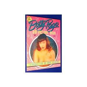 The Betty Page 3 D Picture Book (3 D Glasses Included