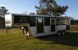 2010 Dream Coach Platinum Edition 3 Horse Trailer with Living Quarters