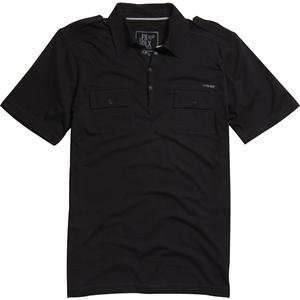 Fox Racing Banter Polo   Large/Black Automotive