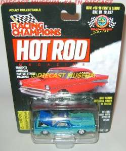 1986 86 CHEVY EL CAMINO RC HOT ROD MAGAZINE DIECAST