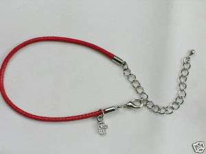 Kabbalah Evil Eye Good Luck Red String Hamsa Bracelet